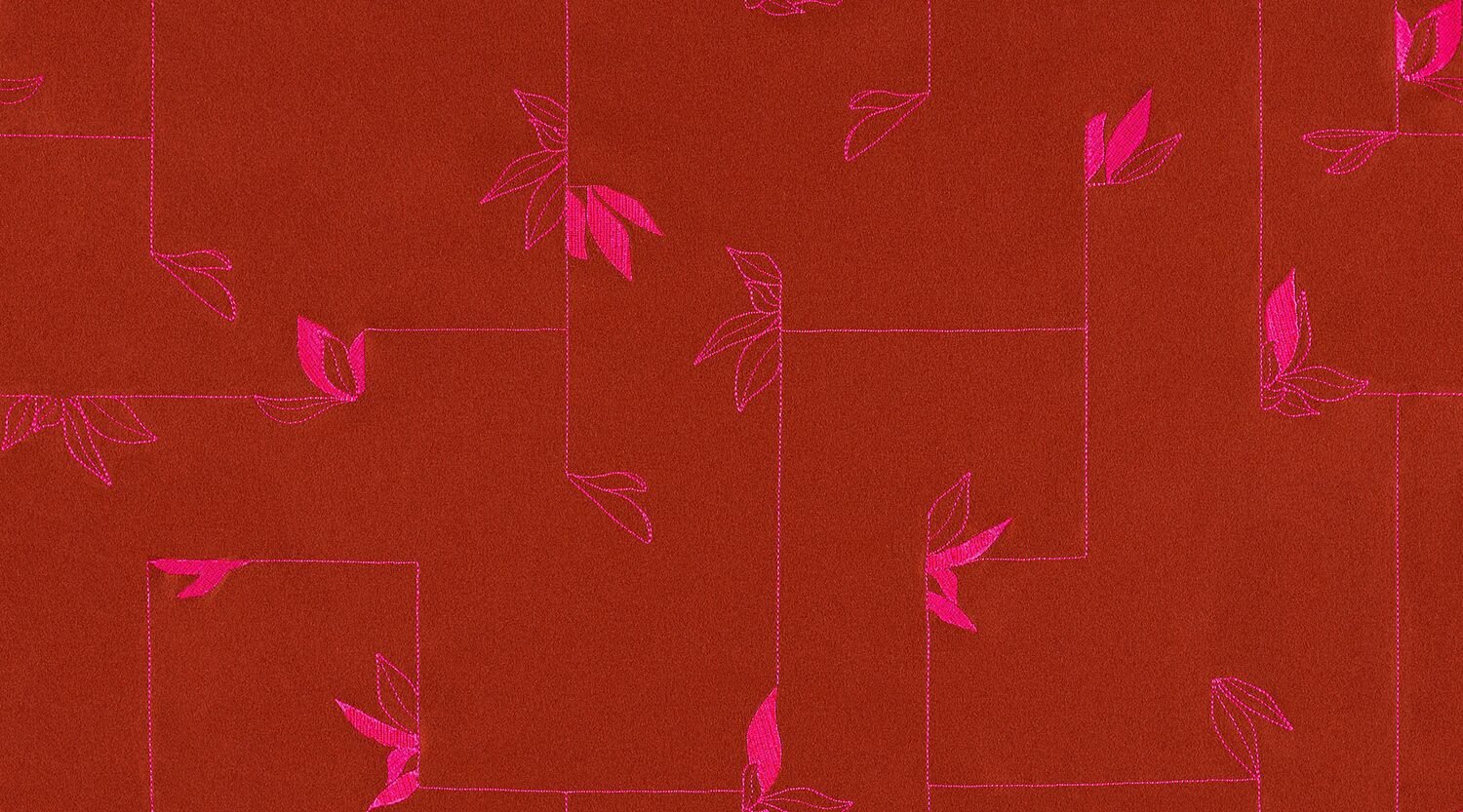 Second Nature - Bougainvillea - 4080 - 04 - Half Yard Tileable Swatches