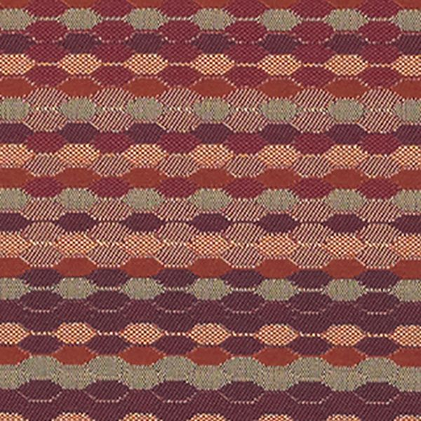Beaded Stripe - Cinnabar - 4018 - 06 - Half Yard Tileable Swatches