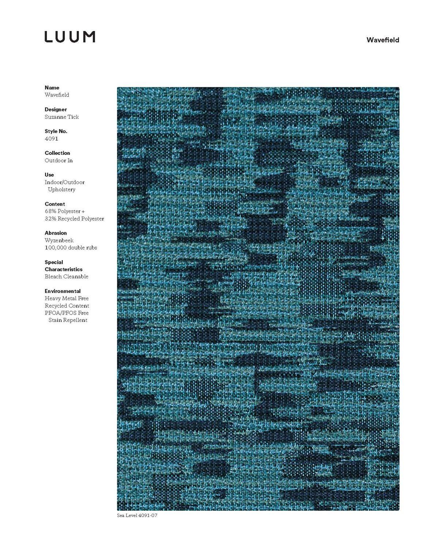 Wavefield - Aspen Reflection - 4091 - 04 Sample Card