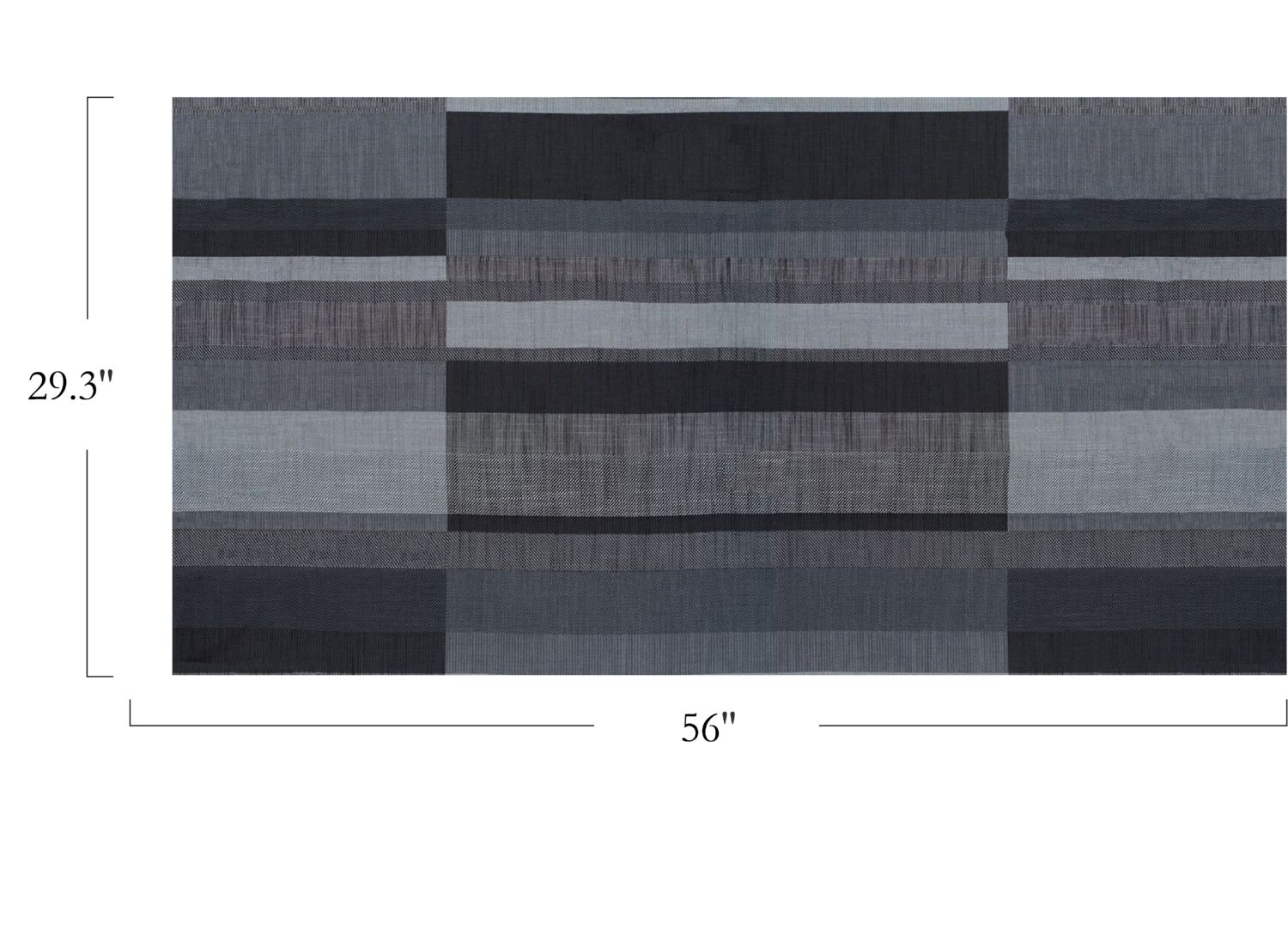 Structured Stripe - Silver Lap - 4075 - 02 - Half Yard Pattern Repeat Image