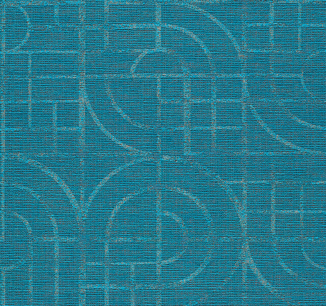 Thangka - Peacock Feathers - 4055 - 05 Tileable Swatches