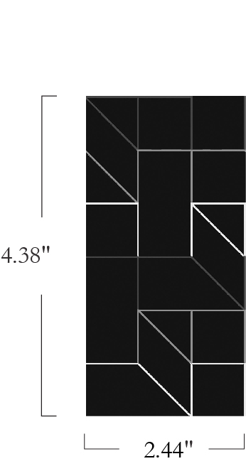 Vector - Dovetail - 4082 - 01 - Half Yard Pattern Repeat Image